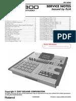 Roland MV-8800 Service Manual