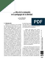 Ortega, Pedro- Etica de La Compasion en la pedagogía de la alteridad