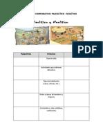 Cuadro Comparativo Paleolaitico y Neolaitico