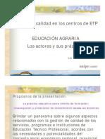 Agro Gestion Educacion Agraria Presentacion Congreso Alte Brown