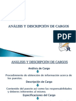 Clase Analisis y Descrip Cargos