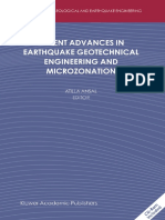 (Geotechnical, Geological, and Earthquake Engineering) Atilla Ansal-Recent Advances in Earthquake Geotechnical Engineering and Microzonation-Springer (2004).pdf