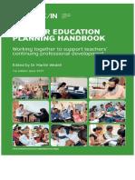 Teacher Education Planning Handbook