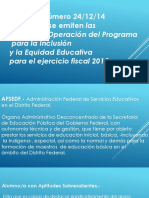Inclusion y Equidad Educativa