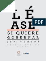 Libro Lease SiQuiere Gobernar Vf Web2