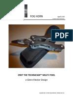 CRKT THE TECHNICIAN™ MULTI-TOOL a Glenn Klecker Design