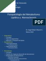 Fisiopatología Del Metabolismo Lipídico y Aterosclerosis