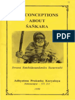 Misconceptions About Sankara