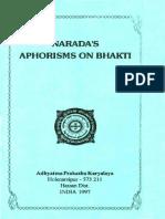 Naradas Aphorisms on Bhakti