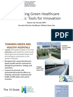 Designing Green Healthcare Facilities