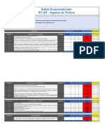 Edital Esquematizado - Polícia Civil Do DF - Agente de Polícia