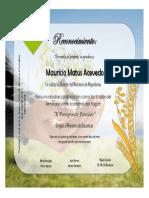 Certificado Mauricio