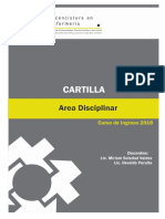 Cartilla Enfermeria 2018