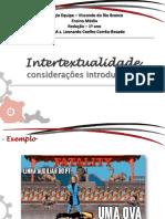 Aula 04 a 06 - Intertextualidade (14!02!2017)