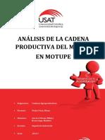 Análisis de La Cadena Productiva Del Mango