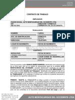 F-gth-004 Modelo de Contrato a Termino Indefinido