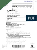 Edexcel IAL Physics Unit 2
