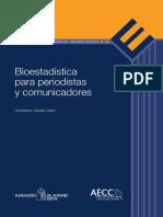 Bioestadística Para Periodistas y Comunicadores - G Casino