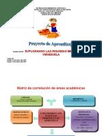 Proyecto 2° grado II lapso explorando las riquezas minerales de venezuela