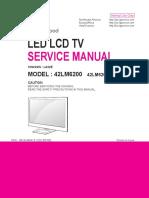 Manual de Servicio TV LED LG 42LM6200 Chasis LA22E