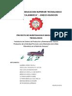 300535124 Proyectos de Investigacion de Truchas