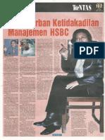 2006_Tabloid Tuntas_Kasus Kebebasan Berserikat di HSBC_2