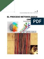 EL PROCESO METODOLÓGICO CREATIVO