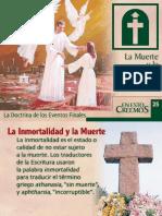# 26 LA MUERTE Y LA RESURRECCION.ppt