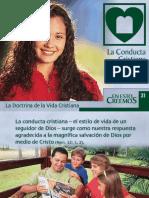 # 22 LA CONDUCTA CRISTIANA.ppt