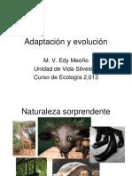 Adaptacion y Evolucion.