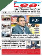 Periódico Lea Martes 17 de Abril Del 2018