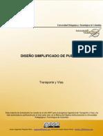 DISEÑO SIMPLIFICADO DE PUENTES