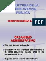 Estructura de La Administracion Publica y Actividad Organizativa 3y 4