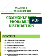 Chapter 2 Commonly Used Probability Distribution
