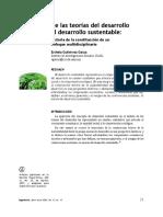 Resumen Teorias Desarrollo Sustentable