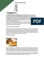 Los Platos Típicos Portugueses