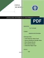 Analisis Interno y Externo