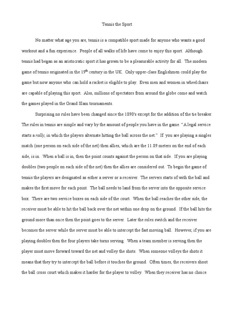Confidence essay