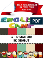 Modul English in Camp