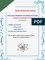 Puma Hinojosa Lopez Informe Practica 3 Tintura Dispersos