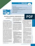 Proceso Contencioso Administrativo - Materia Tributaria
