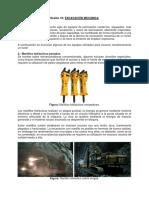 SESIÓN 10 Excavación Mecánica