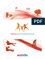 Values and Competencies