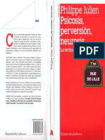 Philippe Julien - Psicosis, Perversión, Neurosis