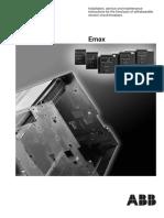 Manual Operacao Parte Fixa Disjuntor Emax En