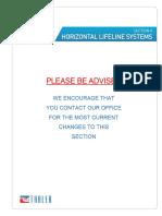 Section K Horizontal Lifeline Systems