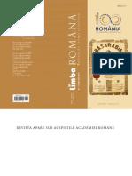 Limba Romana 1-2  _2018 =1812 geneza problemei basarabene (CUGETUL 1994) _Mischevca _extras -.pdf
