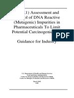 FDA - ICH M7(R1) - Control of Mutagenic Impurities in Pharmaceuticals 03.2018
