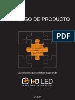 Catálogo de productos I+D LED