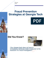 Fraud Prevention at GT